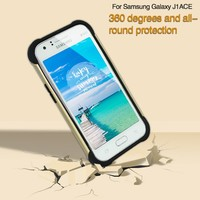Anti shock Mobile Phone Accessories Slim Armor Case 2 in 1 for Samsung Galaxy J1Ace