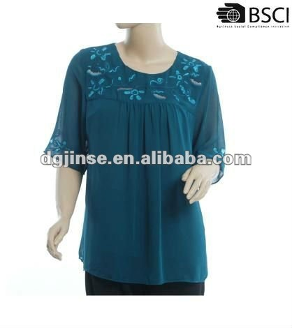2012 formal beaded blouses&fashion top,blouse