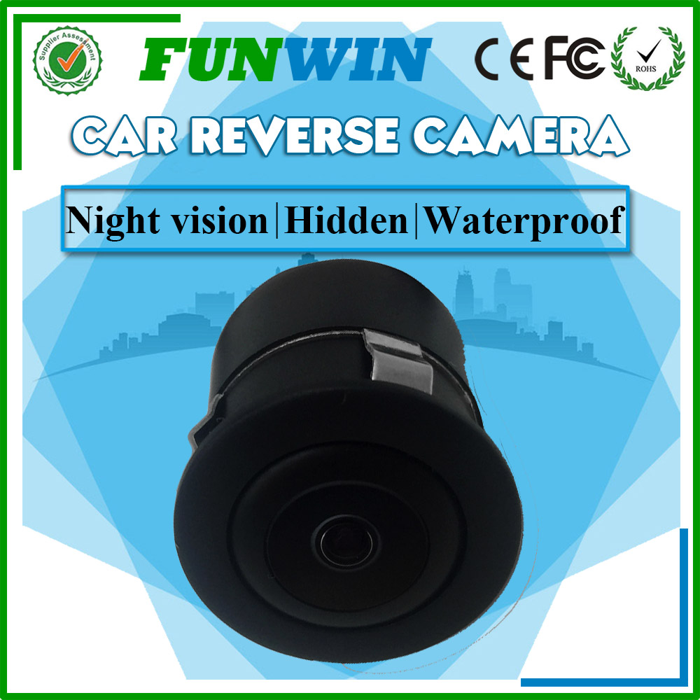 Funwin Small Hidden Camera For Cars, Sony CCD Car Reverse Camera Night Vision