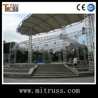 Small lighting truss hanging truss system