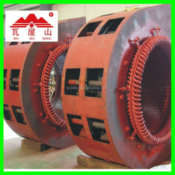 Francis water turbine on grid power plant 35kv power generator