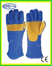 safety equipments Working Cowhide split leather welding Glove