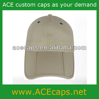 Weatherproof baseball cap with folding peak