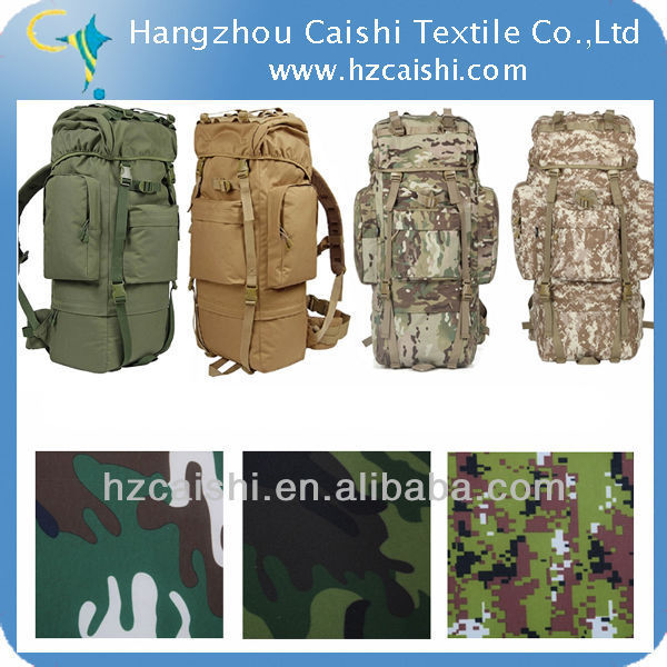 CHINA textile products 600D woven fabric with printing camouflage fabric wholesale