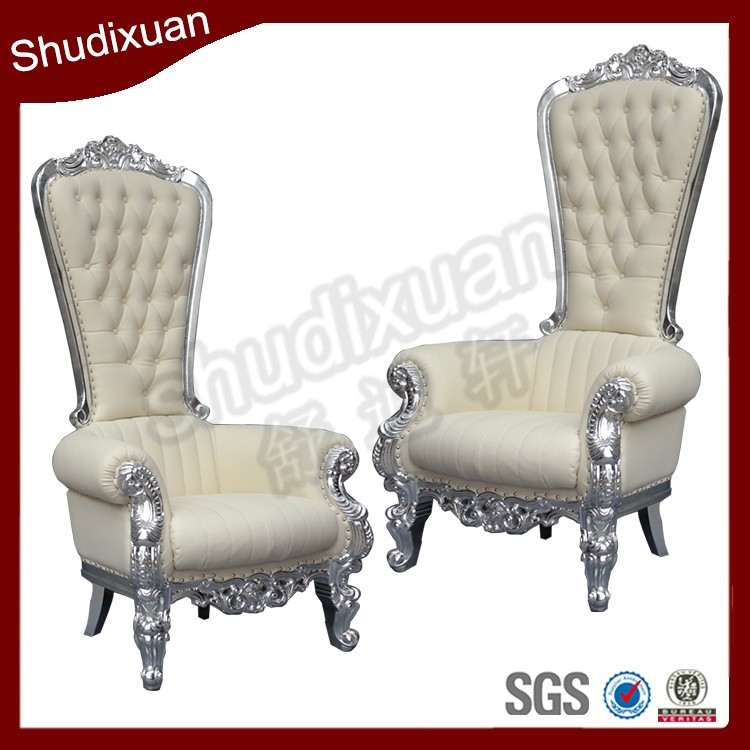 Silver king throne chair for sale YC-K02