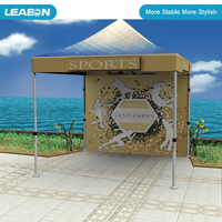 10*10 ft 40*40*1.8mm Outdoor Aluminum Frame and Custom Printing Promotional Tent/ Pop up Tent/Folding Canopy Tent