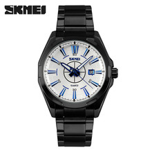 skmei 9118 japan movt diamond stainless steel back water resistant watch quartz in Guangzhou