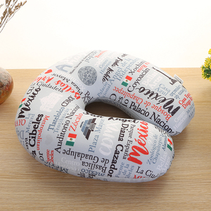 with sublimation printing neck pillow with foam ball customized microbeads neck cushion cheap neck pillow