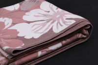 wholesale woven royal Jacquard pashmina throw 100%cashmere baby blanket
