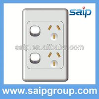 Luxurious energy saving switch for hotel of UK/US/AS with 5A,8A,10A,15A,20A,25A,30A