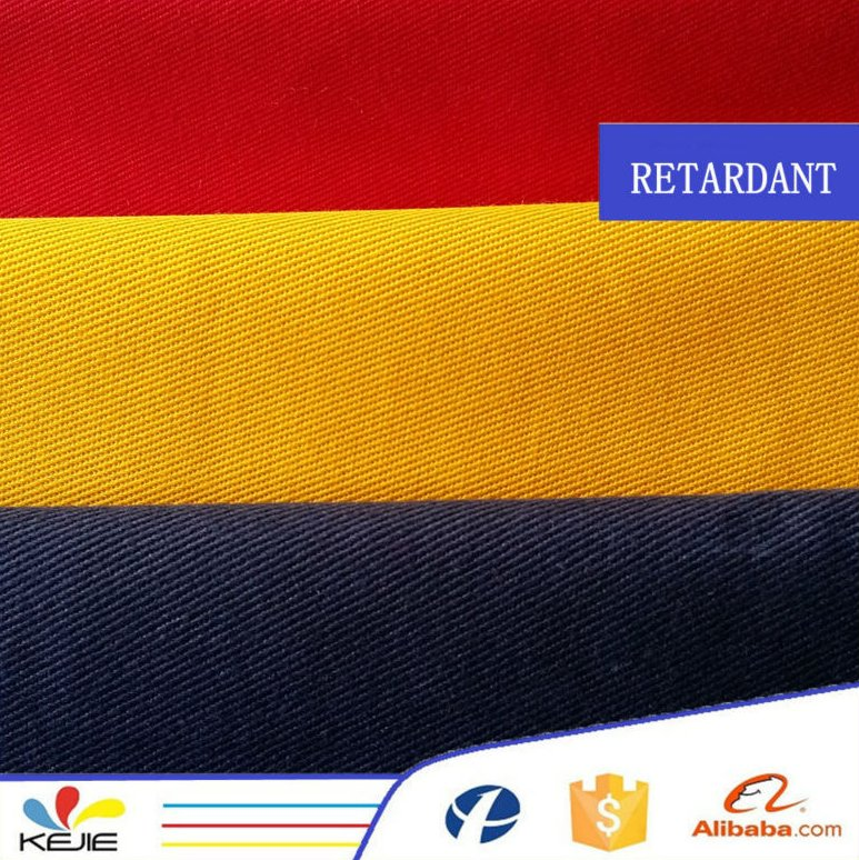 100%cotton FR antiflame fabric for welding garments