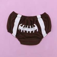 newborn baby clothes American football baby bloomers baby boy clothes