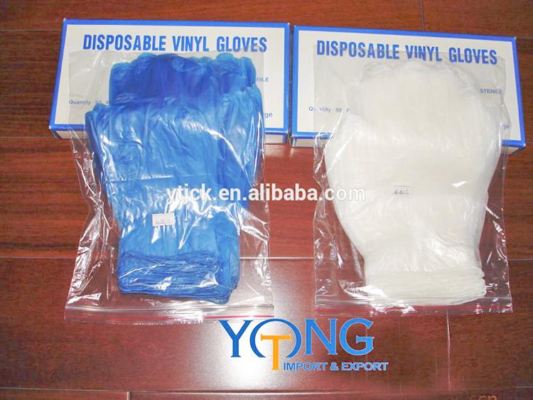 hair salon vinyl gloves extra long