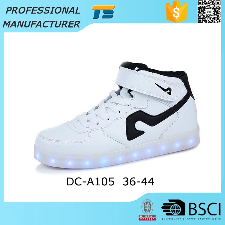 Wholesale Ladies Shining Light Up Shoes For Women