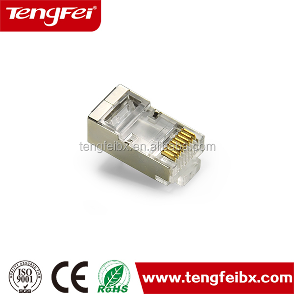 Factory price cat 6a FTP plug RJ45 Connector