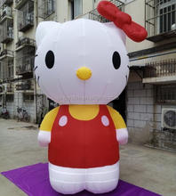 Hello kitty giant inflatable,inflatable Hello Kitty for sale