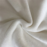 Micro fiber poly/spandex 4 way stretch super soft velboa