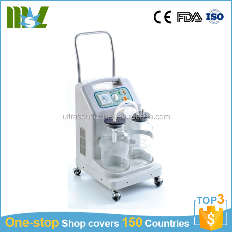 Electric suction apparatus medical phlegm suction machine MSL9E-D
