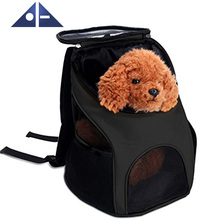 Pet Carrier Backpack Outdoor Soft-sided Dog Cat Pet Carrier Mesh Pup Pack Travel Backpack