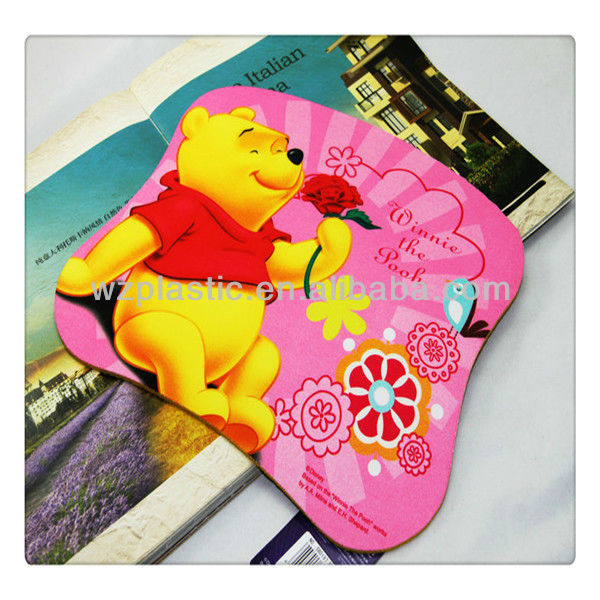 2015 promotional gift Die cut sublimation anti-slip Mousepad