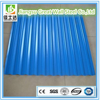 BLUE/Hot sale prepainted galvanized corrugated metal roofing sheet