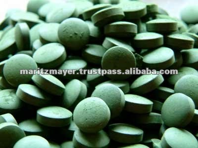 Tablets in bulk Spirulina