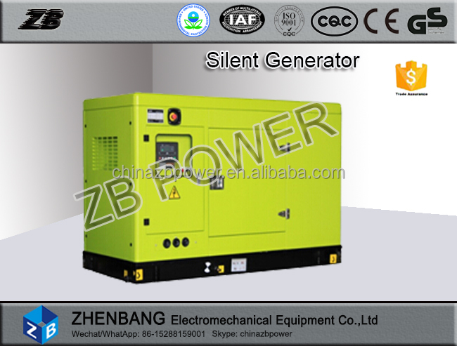Power supply 220V 50HZ 150KW motor generator for sale