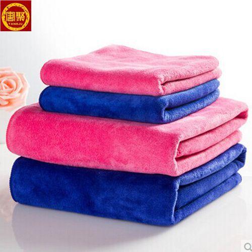 High absorbtion superior microfiber towel, 100% Microfiber Towel, blue microfiber towel