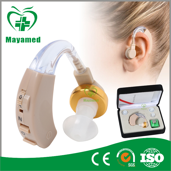 New Arrival Battery Powered Sound Amplifier Hearing Aid for Hard of Hearing