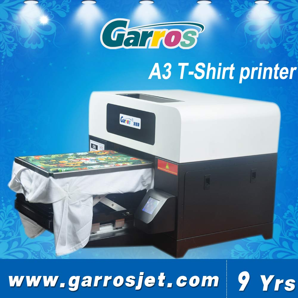 CE Certification Multifunction t-shirt printer with factory price