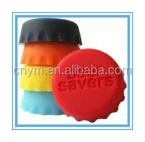 Silicone Beer Saver Bottle cap top lid