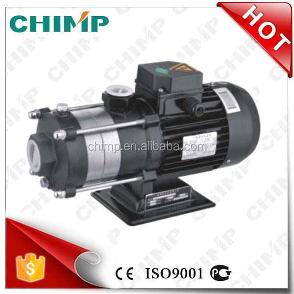 CHIMP CHLF(T) high pressure horizontal multistage stainless steel / cast iron centrifugal pump