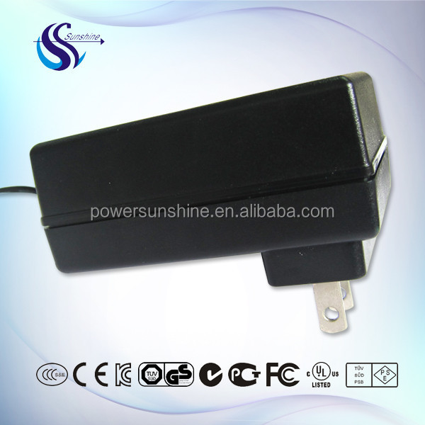 US plug 15W 5V 3A ac dc adapter for MID security camera