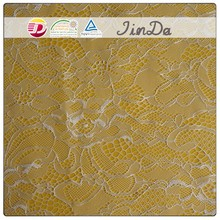 China supplier cheap white fashion polyamide crochet lace fabric wholesale