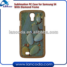 Sublimation Diamond Case with Frame for Samsung S4
