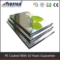 Alusign mirror finish acm panel composite panel building material
