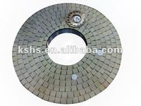 33'' grinding plate for fuel nozzle parts