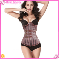 Hot Sale Brown Fir Slim Underbust Corset Mature Women Sexy Body Shaper