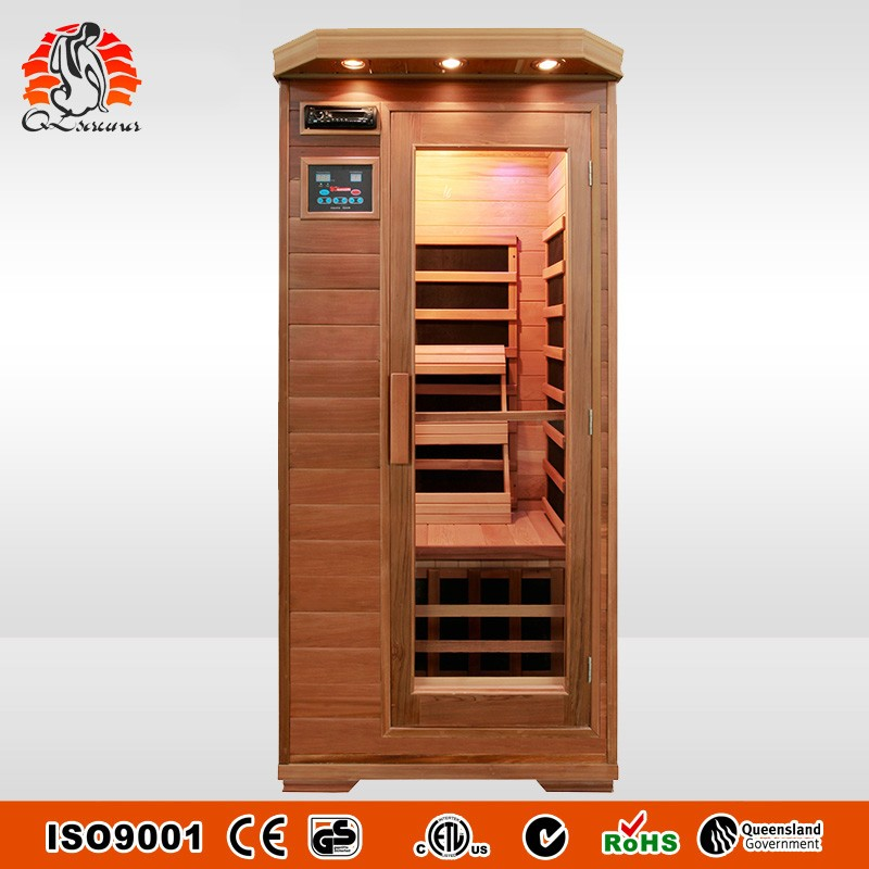 Canada Red Cedar Wooden Infrared Sauna Cabins FIR Sauna made in China G1Cedar