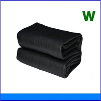 pva cooling towel black for dogs with logo