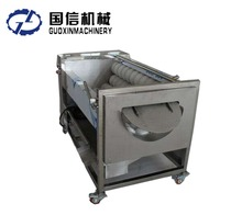 Electric industrial fruit and vegetable cleaning machine/potato peeling machine