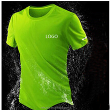 OEM Eco-friendly material custom 100% polyester dry fit plain sports t-shirt