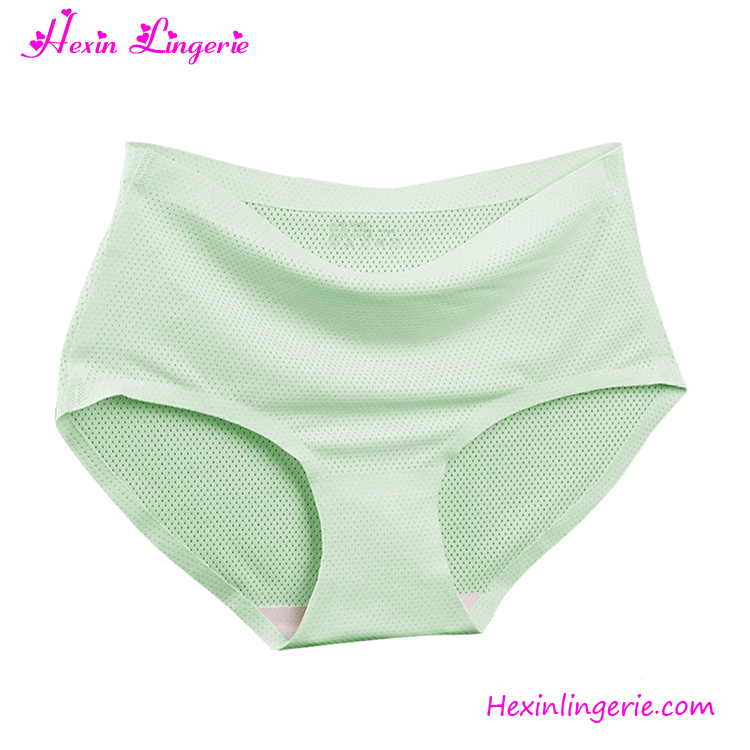 New arrival green seamless imported sexy lace slim panties women