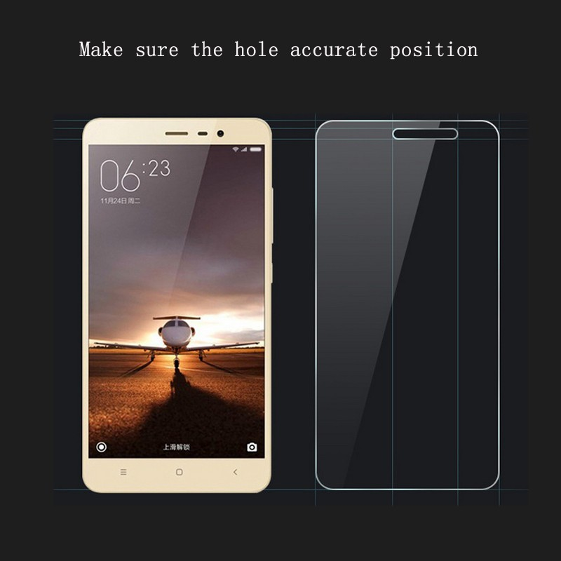 2017 New arrival film guard screen protector for xiaomi redmi note3