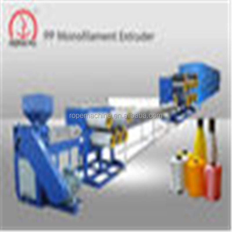 China winding rollers PE Monofilament Extruder