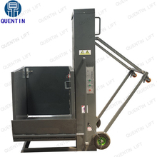 Mobile wheelchair lift platform portable hydraulic wheelchair lifter