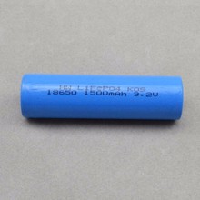 Longest cycle life lifepo4 18650 battery cell with UL, CE, ROHS, UN38.3 certificate