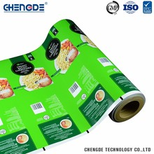 Aluminum Foil Food Packaging Bag Film/plastic food packaging film/food packaging plastic roll film