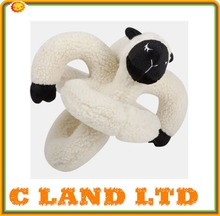 plush pet toy monkey shaped squeaky dog toys