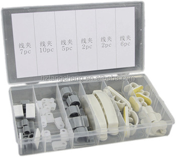 TC BV Certification 32pc Assorted Cable Clip Set